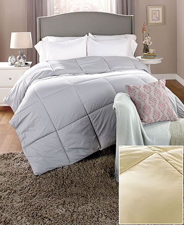 Down-Free Comforters