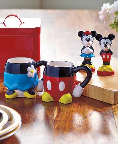 Mickey and Minnie Tabletop Collection