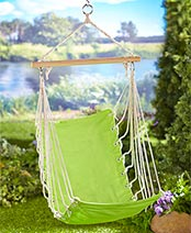 Youth Hammock with Carry Bag - Green