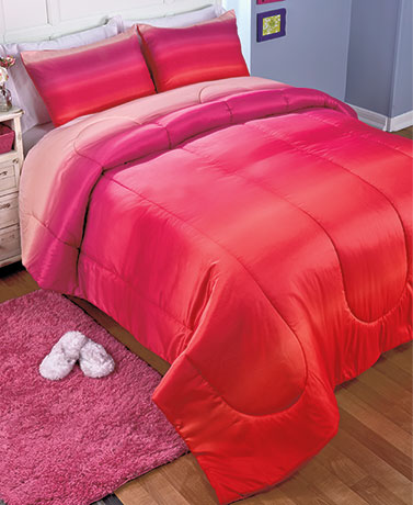 Ombre Printed Comforter Sets