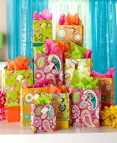 Everyday Gift Bag or Tissue Sets