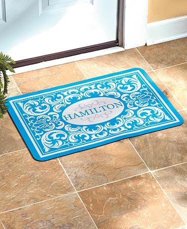 Personalized Baroque Doormats