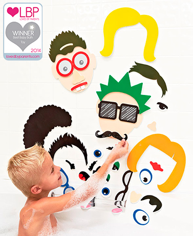 Foam Bath Stickers for Kids