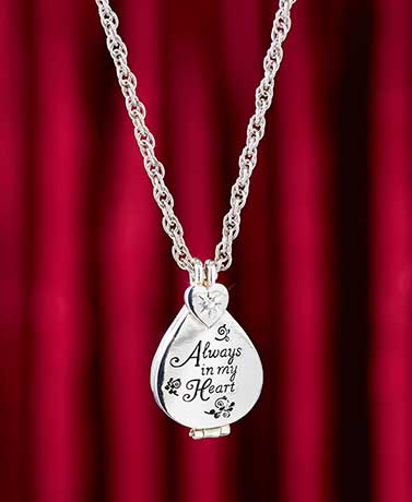 Personalized Always in My Heart Locket
