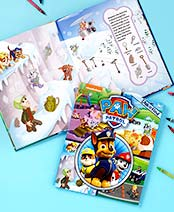 Paw Patrol Licensed Look & Find Book
