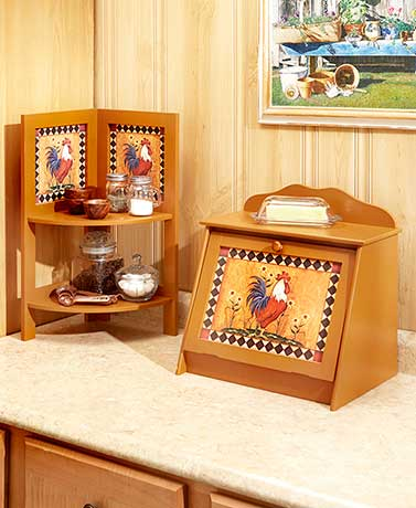 Rise and Shine Kitchen Storage Collection