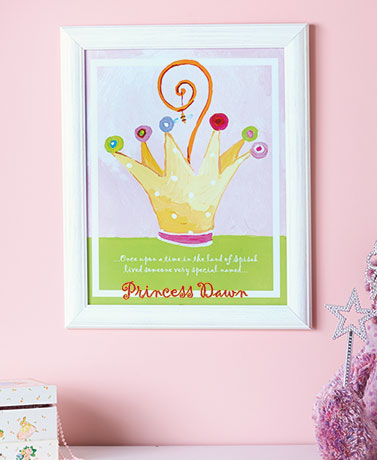 Personalized Framed Children's Prints