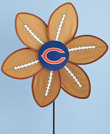 NFL Football Wind Spinner Stakes