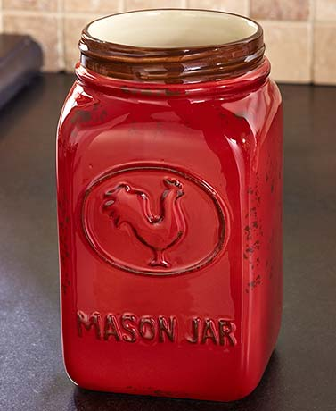 Country Mason Jar Kitchen Collection