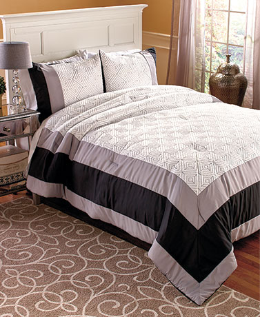 Quilt Top Comforters or Shams