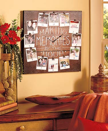 Making Memories Photo Wall Clock