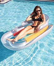 Fashion Lounger Float - Gray