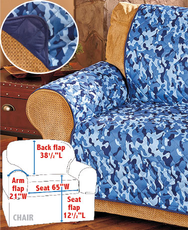 Reversible Camo Furniture Covers
