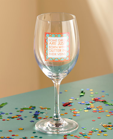 Mary Phillips Wine Glasses