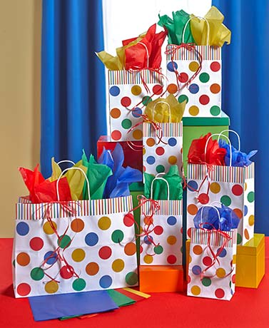 28-Pc. Everyday Gift Bag Sets