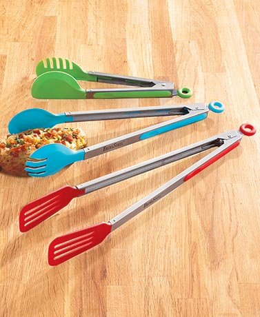CookPro� 3-Pc. Tong Set