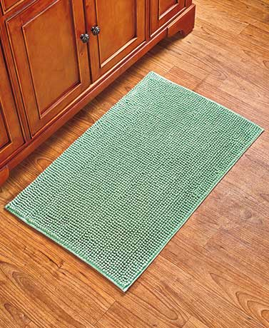 Textured Bath Rugs or Runners