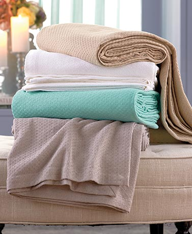 Essential Spring Cotton Bed Blankets