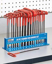 20-Pc. T-Handle Hex Key Set