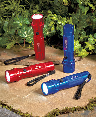 i-Zoom� 2-Pk. LED Flashlight Sets