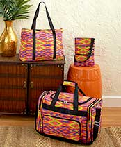 3-Pc. Printed Travel Bag Sets