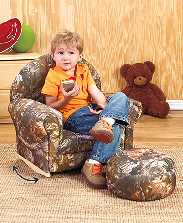 Kids' Rockers with Ottoman