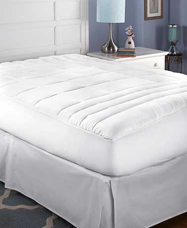 Zonal Support Fitted Mattress Pad