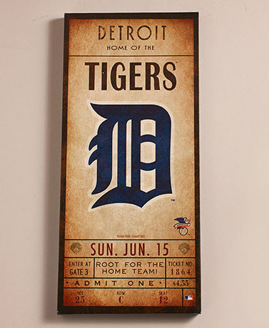 MLB™ Classic Ticket Wall Art
