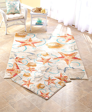 Coastal rug collections the lakeside collection for Home accents rug collection