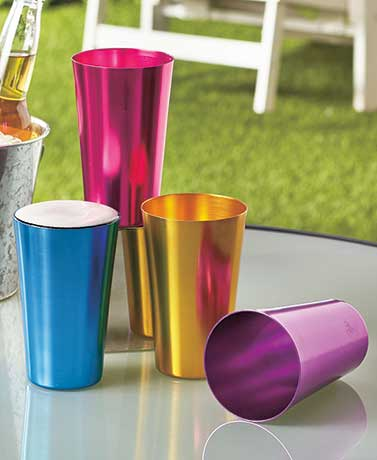 Retro Aluminum Drinkware Sets