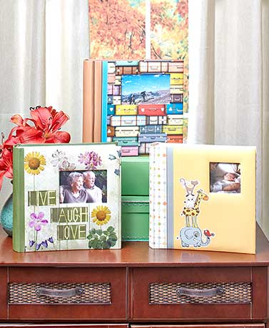 200-Photo Albums with Memos