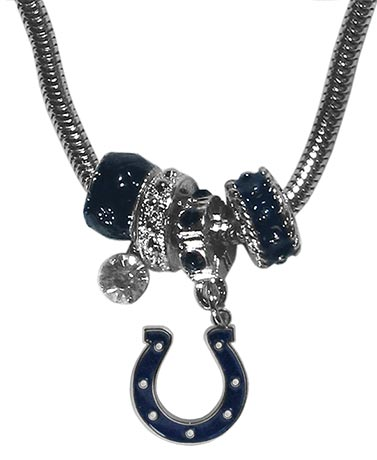 NFL Euro Bead and Charm Necklaces