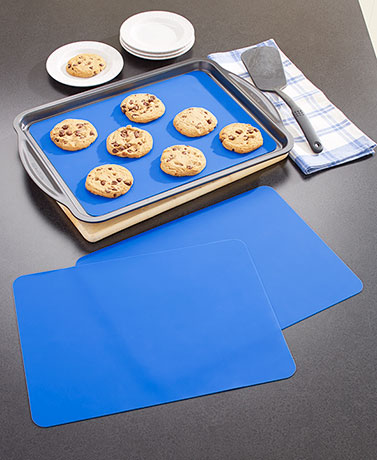 Set of 3 Reusable Baking Sheet Liners