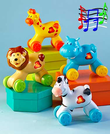 Press 'n' Go Musical Safari Animals