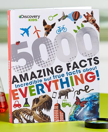Discovery Kids™ 5000 Facts Book