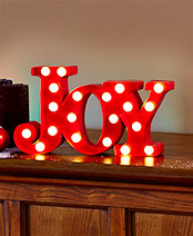 Holiday Marquee Signs - Joy