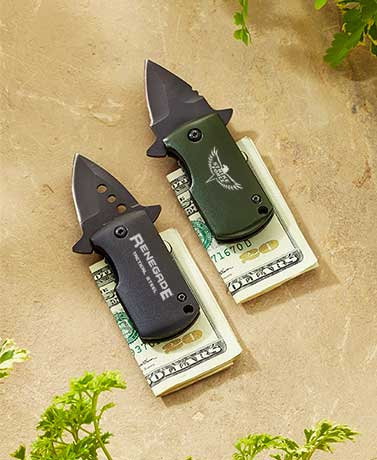 Renegade™ Money Clip Knives