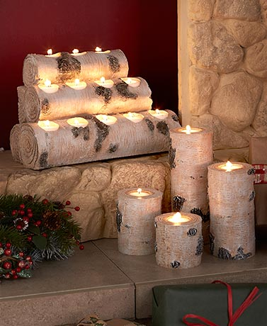Woodland Tea Light Candleholders