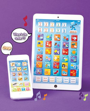 Children's Tablet & Smartphone Set