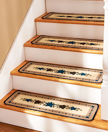 Sets of 4 Stair Treads or Landing Rugs