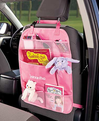 Kids' Personalized Backseat Car Organizers