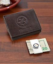 NFL Wallet and Money Clip Sets