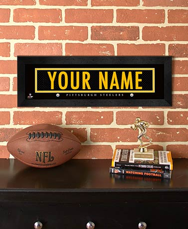 Personalized NFL Stitched Jersey Prints