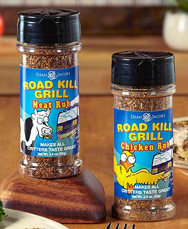 Set of 2 Road Kill Grill Rubs