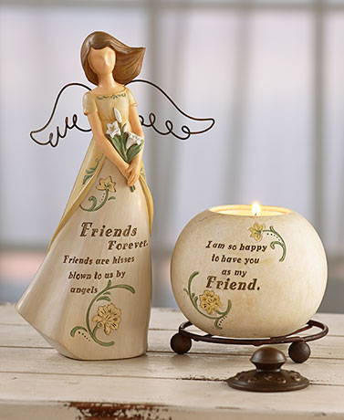 2-Pc. Sentiment Themed Angel Gift Sets