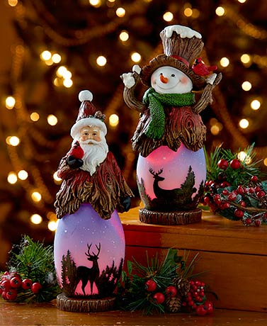 Holiday Lighted Figures