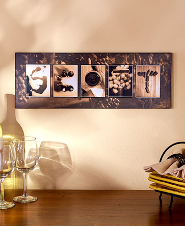 Personalized Thematic Name Art - Wine