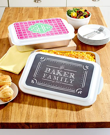 Personalized Nordic Ware Baking Dishes