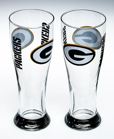 Sets of 2 NFL Pilsners
