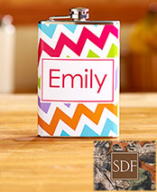 Personalized Stainless Steel Flasks